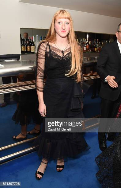 Molly Goddard attends a dinner hosted by Jonathan Newhouse and Albert Read for Edward Enninful to celebrate the December issue of British Vogue at...