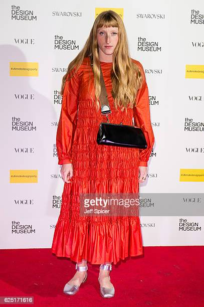 Molly Goddard attends The Design Museum VIP launch on November 22 2016 in London United Kingdom