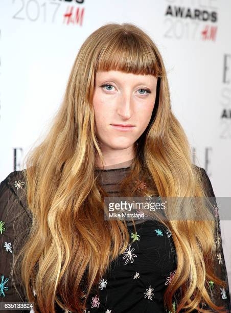 Molly Goddard attends the Elle Style Awards 2017 on February 13 2017 in London England
