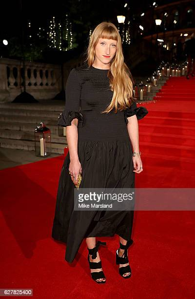 Molly Goddard attends The Fashion Awards 2016 on December 5 2016 in London United Kingdom
