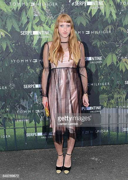 Molly Goddard attends the Serpentine Summer Party cohosted by Tommy Hilfiger at the Serpentine Gallery on July 6 2016 in London England