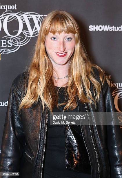 Molly Goddard attends the Veuve Clicquot Widow Series 'A Beautiful Darkness' curated by Nick Knight and SHOWstudio on October 28 2015 in London...