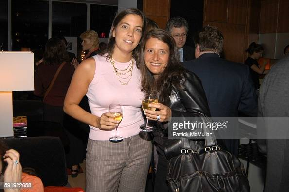 Molly Goller and Jackie Bouda attend Oxfam America Charity Event at 'Esquire Downtown' at Astor Place at Esquire Downtown at Astor Place on October 7...
