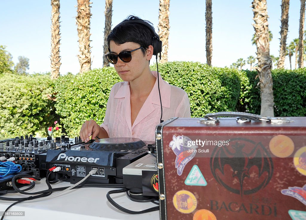Molly Hawkins of Young Turks attends the Soho House Pop Up with Bacardi Hosted by RADD during Coachella 2013 at Merv Griffin Estate on April 21, 2013 in La Quinta, California.