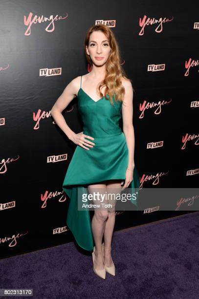 Molly Kate Bernard attends the 'Younger' season four premiere party on June 27 2017 in New York City
