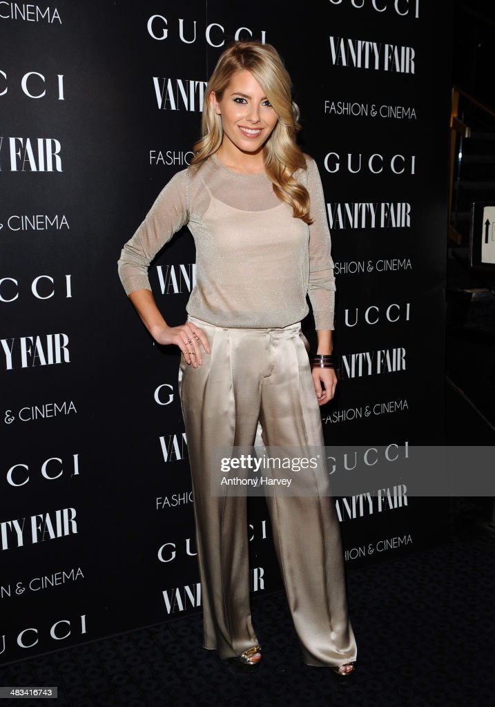 Molly King attends a special screening of 'Gucci And Vanity Fair The Director' at The Curzon Mayfair on April 8 2014 in London England