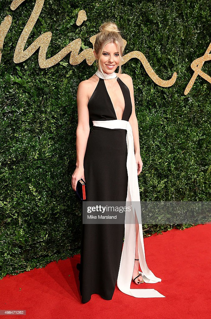 Molly King attends the British Fashion Awards 2015 at London Coliseum on November 23 2015 in London England