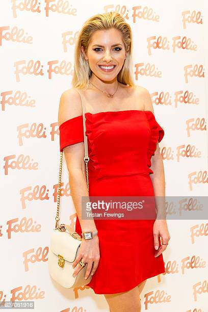 Molly King attends the launch party of the Folli Follie Regent Street Concept Store on December 1 2016 in London England