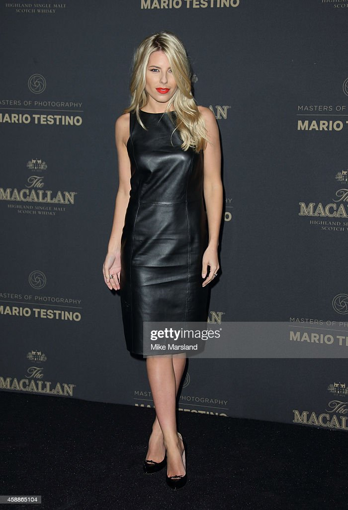 Molly King attends The Macallan Masters of Photography Mario Testino Edition launch party at The Ritz on November 12 2014 in London England