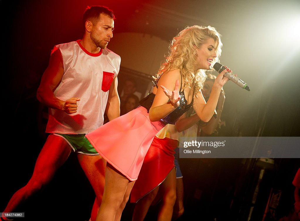Molly King of The Saturdays performs at G-A-Y on October 12, 2013 in London, England.