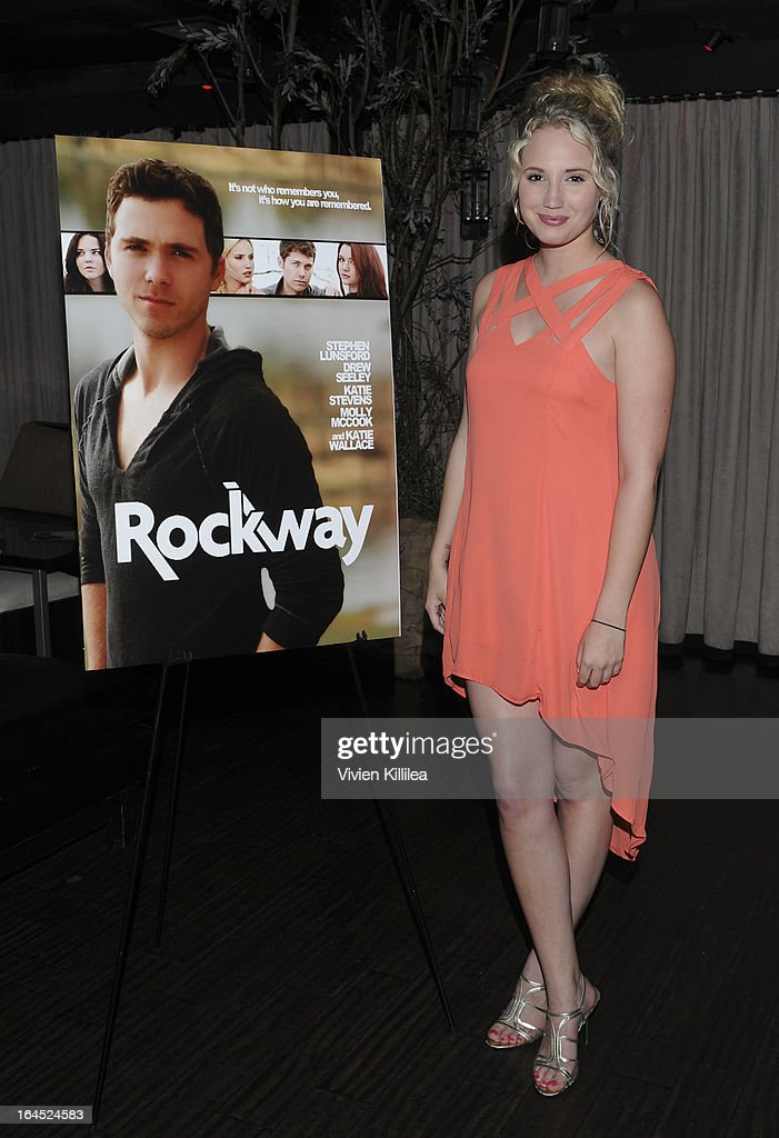 Molly McCook attends Rock Way Fundraiser at Beso on March 23, 2013 in Hollywood, California.