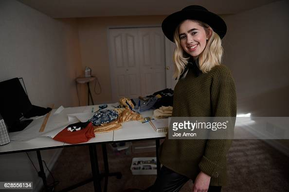 Molly OBrien 17 a senior at Rocky Mountain High School in Fort Collins operates her fashion line under her label Molly Elizabeth out of her home and...