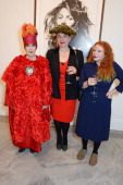 Molly Parkin Sophie Parkin and daughter attend a private view of Bailey's Stardust a exhibition of images by David Bailey supported by Hugo Boss at...