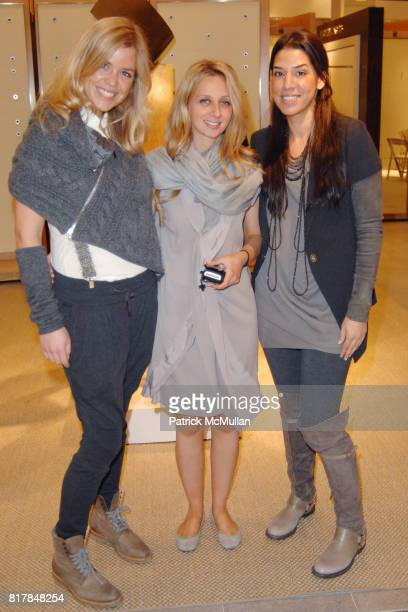 Molly Peters Dina Koutrounanis and Elif Gebgec attend Brunello Cucinelli Runway Show at Neiman Marcus Beverly Hills at Neiman Marcus on October 29...
