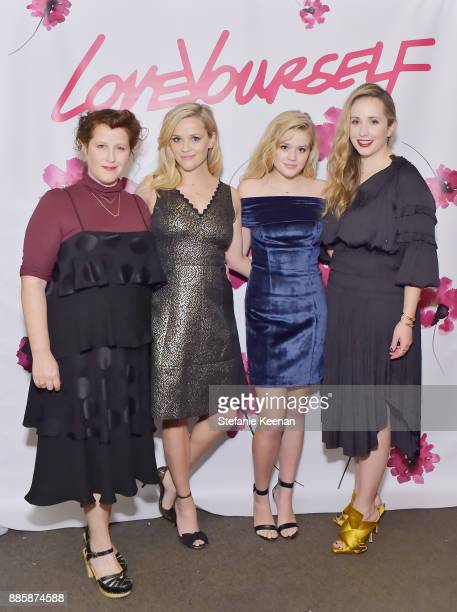 Molly R Stern Reese Witherspoon Ava Phillippe and Zahava Ryzman attend Molly R Stern X Sarah Chloe Jewelry Collaboration Launch Dinner on December 4...