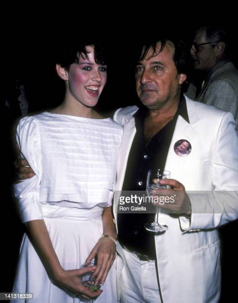 Molly Ringwald and Paul Mazursky at the Premiere Party for 'Tempest' South Street Seaport New York City