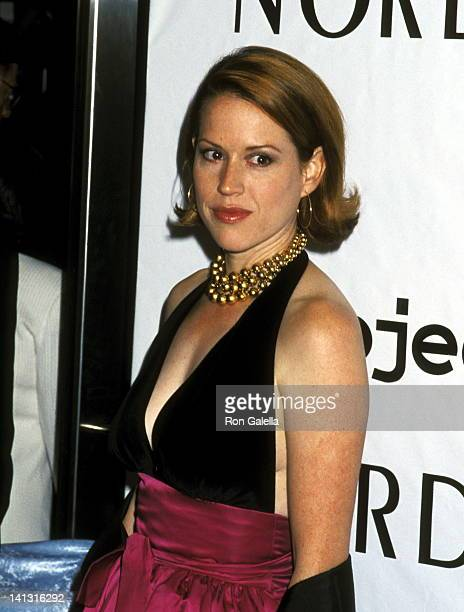 Molly Ringwald at the 3rd Annual Tomorrow is Tonight dinner and auction to benefit Project ALS Metropolitan Pavilion New York City