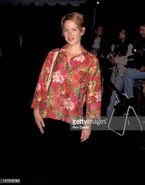 Molly Ringwald at the Party Auction to Benefit Planet Hope Smashbox Studios Culver City