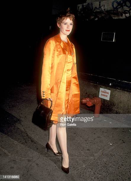 Molly Ringwald at the Party Celebrating Molly Ringwald's Movieline Magazine's 'Hollywood Style' Issue New York City