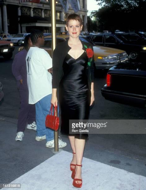 Molly Ringwald at the Party Celebrating New John Barrett Salon Bergdorf Goodman Penthouse New York City