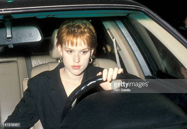 Molly Ringwald at the Party Hosted by Virgin Records Pazzia Restaurant Los Angeles