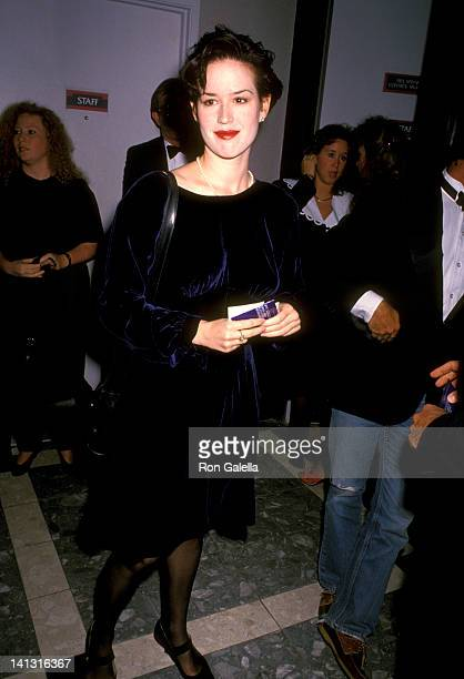 Molly Ringwald at the Premiere of 'Dances with Wolves' Cineplex Odeon Cinemas Los Angeles
