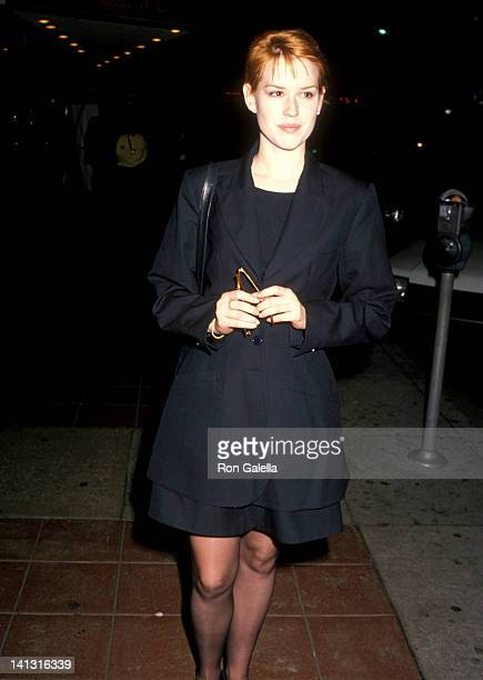 Molly Ringwald at the Premiere of 'Joe Versus the Volcano' Mann's Regent West Theater Westwood