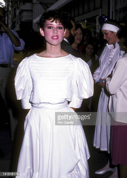 Molly Ringwald at the Premiere of 'Tempest' Loews Tower East New York City