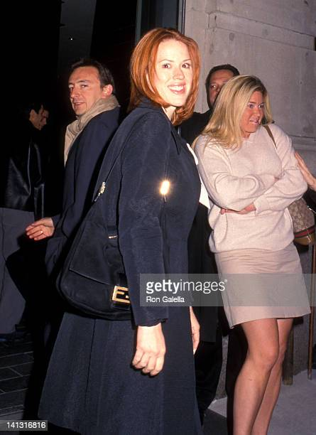 Molly Ringwald at the Premiere of 'Virgin Suicide' United Artists Union Square New York City