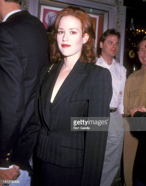 Molly Ringwald at the West Coast Premiere of 'Superstar The Life Times of Andy Warhol' Laemmle's MUSIC HALL 3 Beverly Hills