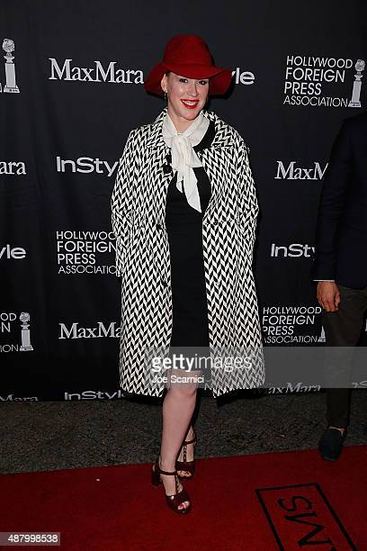 Molly Ringwald attends HFPA/InStyle's Annual TIFF Celebration at Windsor Arms Hotel on September 12 2015 in Toronto Canada