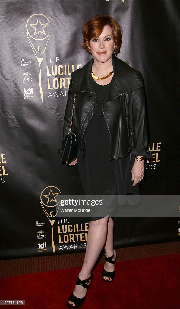 <a gi-track='captionPersonalityLinkClicked' href=/galleries/search?phrase=Molly+Ringwald&family=editorial&specificpeople=206508 ng-click='$event.stopPropagation()'>Molly Ringwald</a> attends the 31st Annual Lucille Lortel Awards at NYU Skirball Center on May 1, 2016 in New York City.