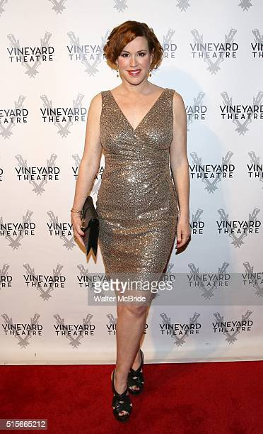Molly Ringwald attends the cocktail party for the Vineyard Theatre 2016 Gala at the Edison Ballroom on March 14 2016 in New York City