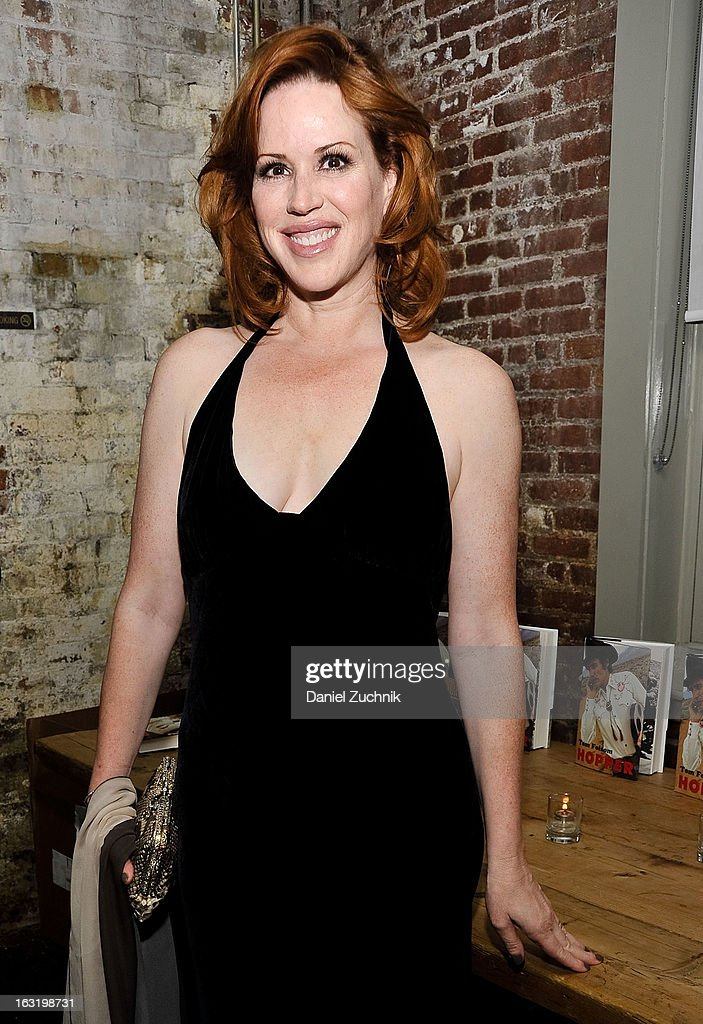 Molly Ringwald attends the 'Hopper: A Journey Into the American Dream' book launch on March 5, 2013 in New York City.
