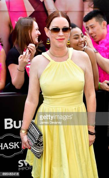 Molly Ringwald attends the 'Rough Night' New York Premeire at AMC Lincoln Square Theater on June 12 2017 in New York City