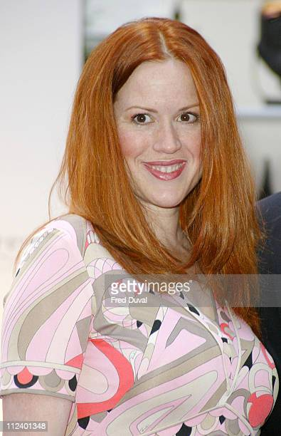Molly Ringwald during Asprey Reopens Bond Street Store at Asprey in London Great Britain