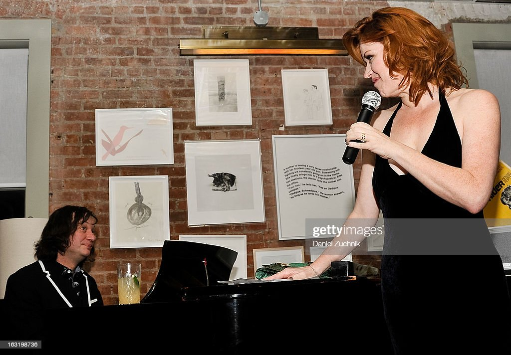 <a gi-track='captionPersonalityLinkClicked' href=/galleries/search?phrase=Molly+Ringwald&family=editorial&specificpeople=206508 ng-click='$event.stopPropagation()'>Molly Ringwald</a> performs during the 'Hopper: A Journey Into the American Dream' book launch on March 5, 2013 in New York City.