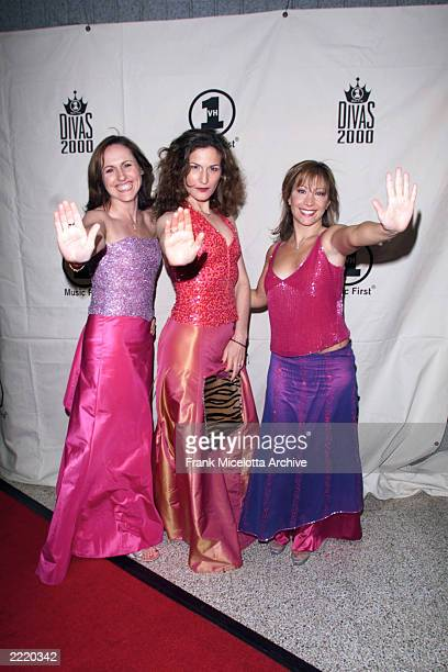 Molly Shannon Ana Gasteyer and Cheri Oteri of Saturday Night Live at VH1 Divas 2000 Tribute to Diana Ross held at the theatre in Madison Square...
