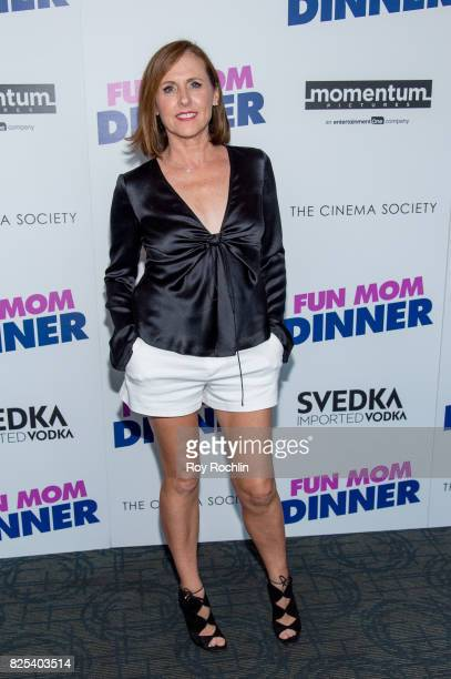 Molly Shannon attends the screening Of 'Fun Mom Dinner' at Landmark Sunshine Cinema on August 1 2017 in New York City