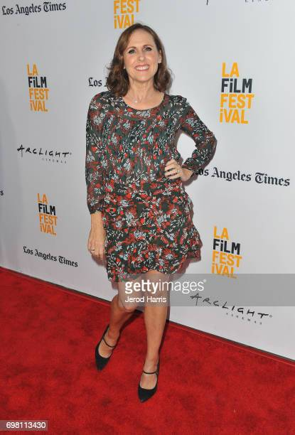 Molly Shannon attends the screening of 'The Little Hours' during 2017 Los Angeles Film Festival at Arclight Cinemas Culver City on June 19 2017 in...