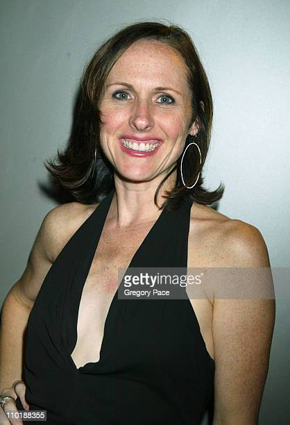 Molly Shannon during 2004 Conde Nast Traveler Magazine Hot List Party Arrivals at Hotel Gansevoort in New York City New York United States
