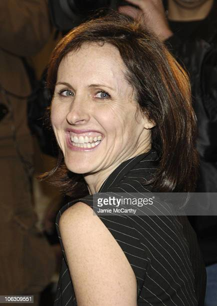 Molly Shannon during 'Barefoot in the Park' Broadway Opening Night Arrivals in New York City New York United States