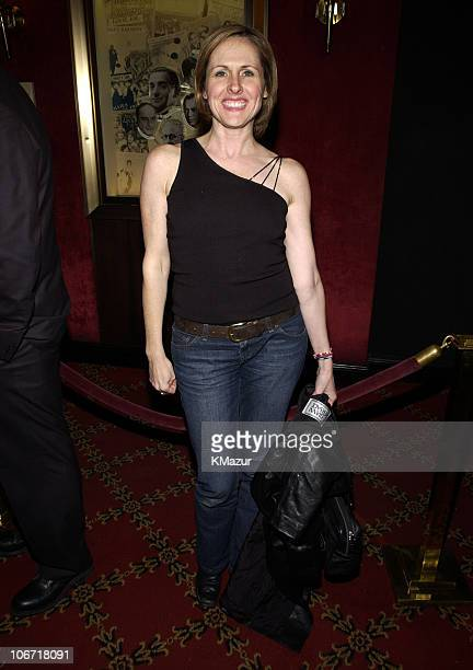 Molly Shannon during 'Chicago' Special Screening to Benefit GLAAD and Broadway Cares Inside Arrivals at Zeigfeld Theater in New York City New York...