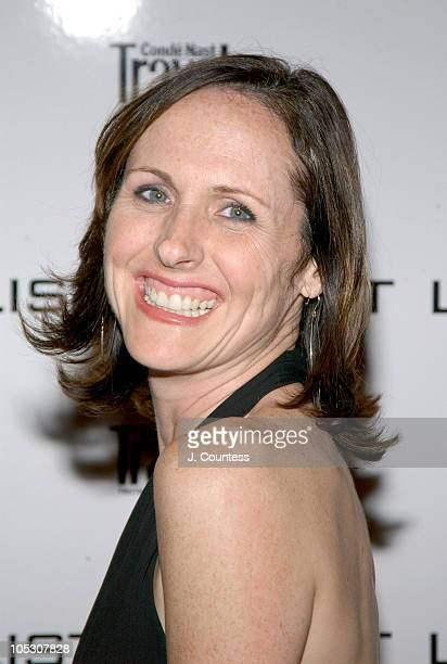 Molly Shannon during Conde Nast Traveler Hot List Party Outside Arrivals at Hotel Gansevoort in New York City New York United States