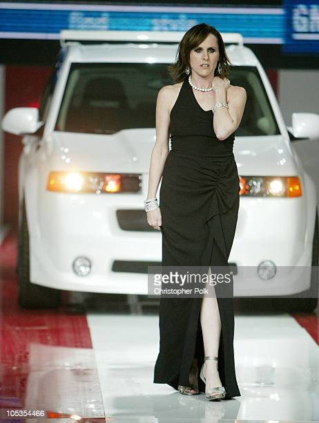 Molly Shannon during GM Rocks Award Season With Cars Stars and Fashion Arrivals and Inside at Sunset and Vine in Hollywood California United States
