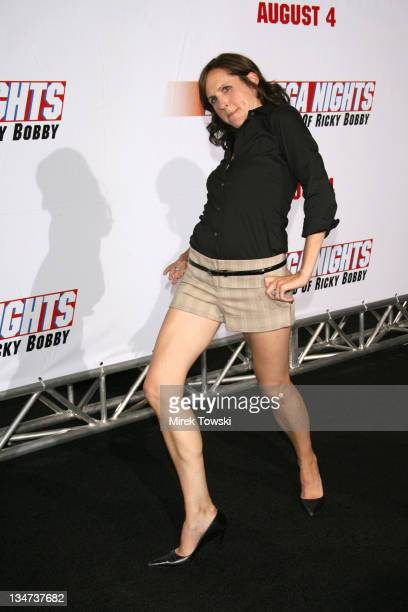 Molly Shannon during 'Talladega Nights' Los Angeles Premiere Arrivals at Grauman's Chinese Theater in Hollywood California United States
