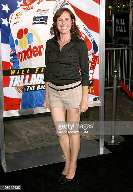 Molly Shannon during 'Talladega Nights The Ballad of Ricky Bobby' Premiere Arrivals at Grauman's Chinese Theater in Hollywood California United States