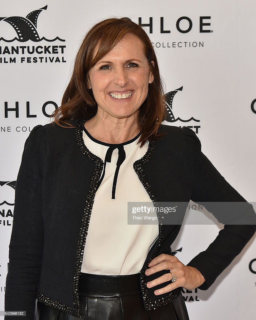 Molly Shannon receives the Compass Rose Acting award during the 2016 Nantucket Film Festival Day 4 on June 25, 2016 in Nantucket, Massachusetts.