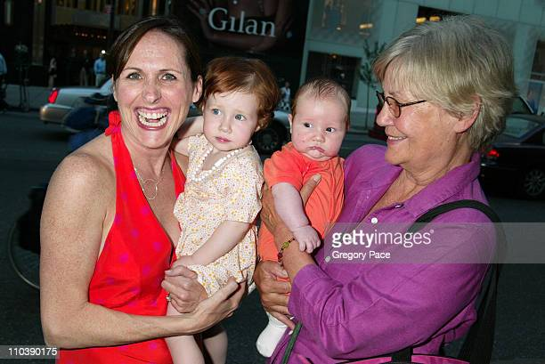 Molly Shannon with children Stella and Nolan and her motherinlaw Ann Chesnut