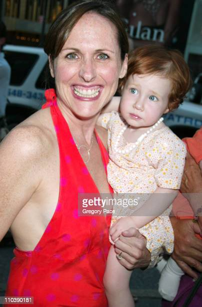 Molly Shannon with daughter Stella during 'Lotsa de Casha' by Madonna Book Launch Party at Bergdorf Goodman in New York June 7 2005 at Bergdorf...